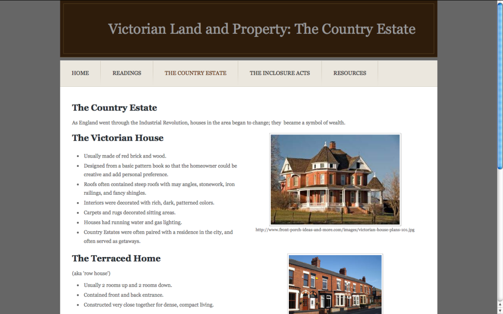 Victorian Land and Property: The Country Estate